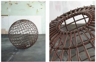 Mona Hatoum – Globe, 2007 (Globo) – Cortesía Galerie Max Hetzler, Berlín (Foto: Jörg von Bruchhausen) — Cortesía de la Fundación PROA