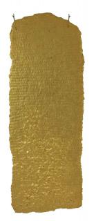 Olga de Amaral, Estela 28, 1998, Linen, gesso, acrylic, gold leaf, 73 5/8 x 27 1/2 In.  [184 x 70 Cm.]