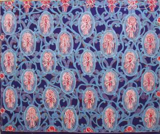BEATRIZ MILHAZES, 1993, Oil on canvas, 63 x 75 In.  [160 x 190.5 Cm.]