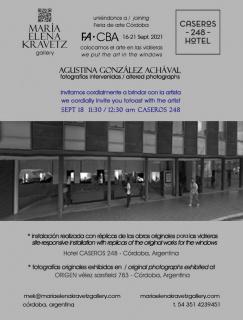 AGUSTINA GONZÁLEZ ACHÁVAL - Fotografías intervenidas / altered photographs