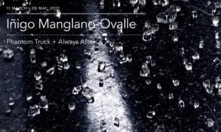 Cartel exposición de Íñigo Manglano-Ovalle