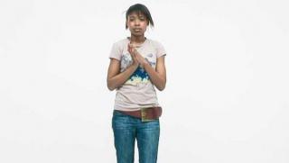 Rineke Dijkstra, The Krazyhouse (Megan, Simon, Nicky, Philip, Dee), Liverpool, UK, 2009. Videoinstalación de cuatro canales, en color, con sonido, 32 min., edición 3/6