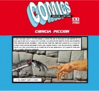 Galería Delbarrio, Comics en Edición Limitada n° 7, obra de INCA pd