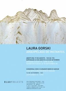 Laura Gorski. Arquipélago de instantes