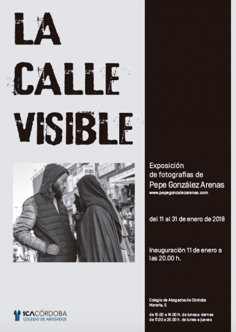 Cartel La Calle Visible