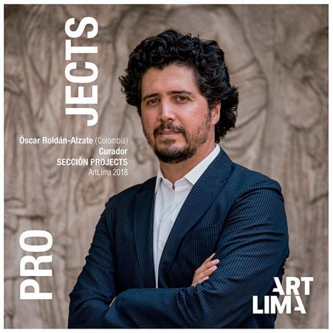 Oscar Roldán-Alzate, curador de la sección [PROJECTS] de ArtLima