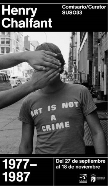 Image result for imagenen de la exposición Art Is Not a Crime