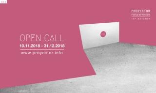 Proyector2019. Open Call