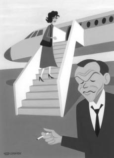 Airliner To Madrid. Shag — Cortesía de La Fiambrera Art Gallery