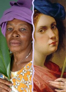 Fotomontaje de la Exposición Artemisias -  May San Alberto