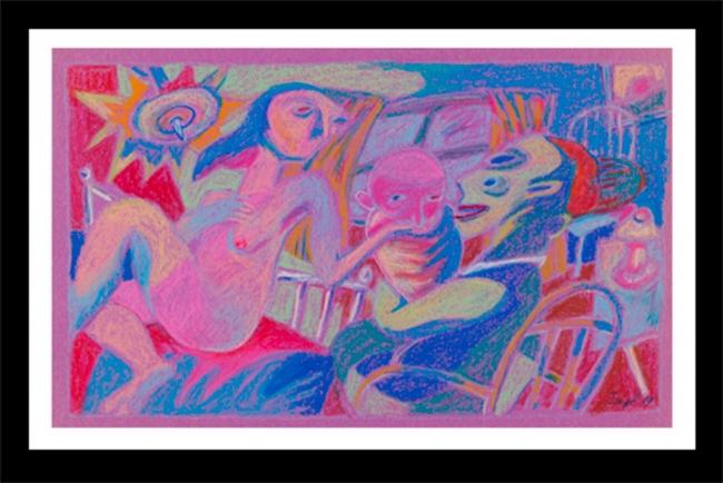 Obra de Pastel