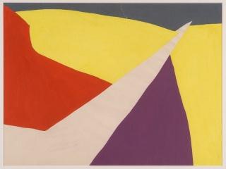 Crédito fotográfico: Equipo 57. Interactividad cine I, 1957. Gouache sobre papel, 33,5x49,5 cm. Centro Andaluz de Arte Contemporáneo. Junta de Andalucía — Cortesía del Centro de Creación Contemporánea de Andalucía (C3A)