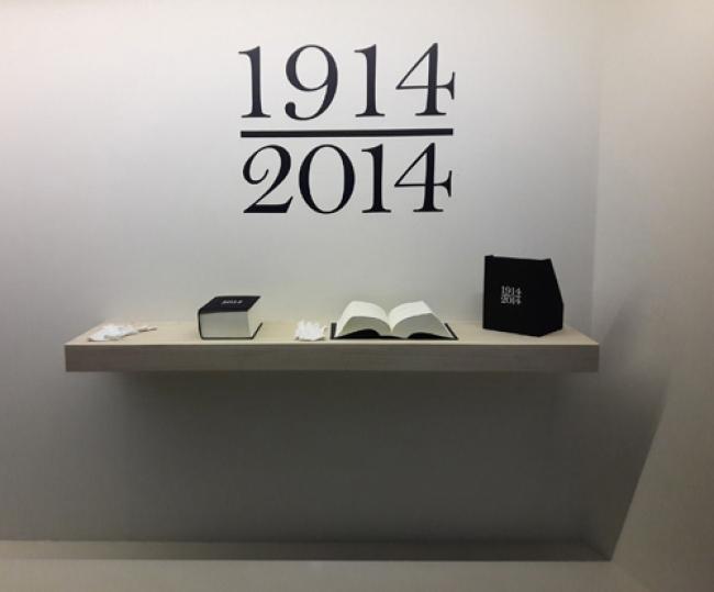 1914-2014. Marta PCampos — Cortesía del Instituto Cervantes