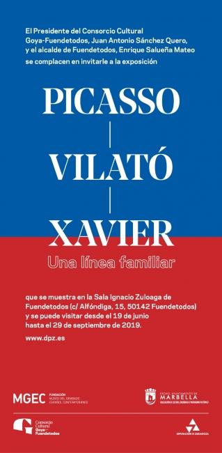 Picasso - Vilató - Xavier. Una línea familiar
