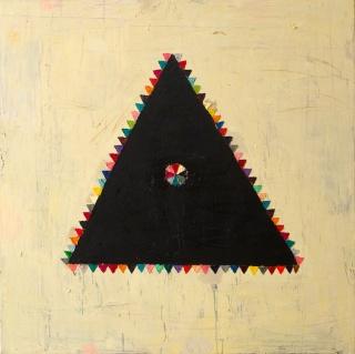Tríada (2017), Óleo sobre lienzo