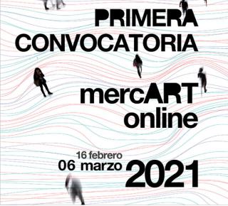 I convocatoria 'mercARTonline' para artistas emergentes y de media carrera