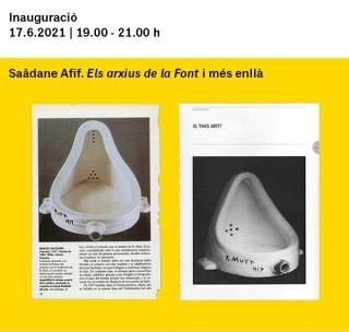 Saâdane Afif. Los archivos de la Fuente y más allá