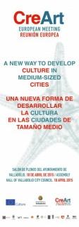 CreArt. Una nueva forma de desarrollar la cultura en ciudades de tamaño medio
