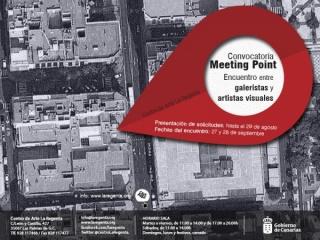 MEETING POINT. ENCUENTRO ENTRE GALERISTAS Y ARTISTAS VISUALES
