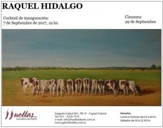 RAQUEL HIDALGO. OLEOS