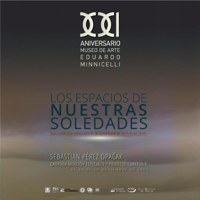 LOS ESPACIOS DE NUESTRAS SOLEDADES. Imagen cortesía Museo de Arte Eduardo Minnicelli