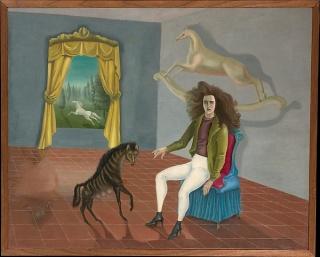 Autorretrato de Leonora Carrington. Cortesía del MET.