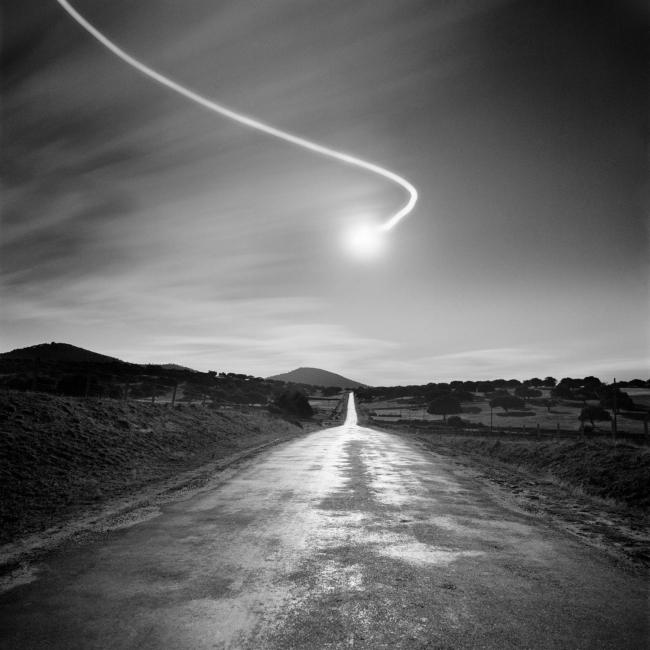 Juan Manuel Castro Prieto, Carretera de Cespedosa, 1987 – Cortesía de Promoción del Arte