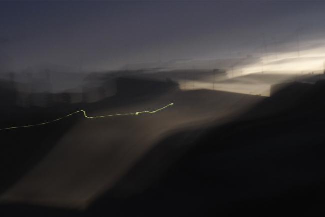 Way of Light I, 2010. 33 x 58 cm. Inyección de tinta pigmentada sobre papel de algodón. Pigment on rag paper, inkjet © Thomas Nölle – Cortesía del Museo del Romanticismo