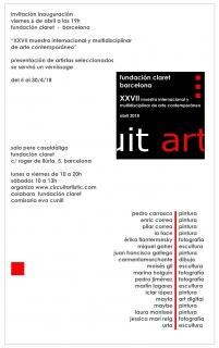 XXVII Muestra Internacional y Multidisciplinar de Arte Contemporáneo circuit artístic