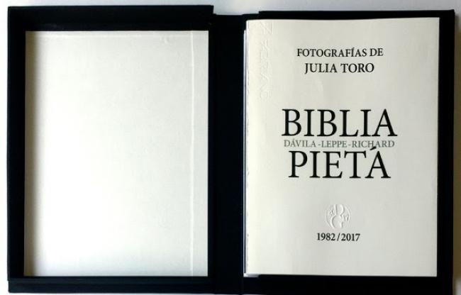 Julia Toro Donoso, Biblia/Pietá, de Carlos Leppe, Juan Dávila y Nelly Richard - Cortesía  Isabel Aninat