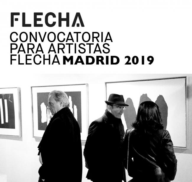 Convocatoria para artistas Flecha Madrid 2019