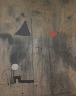 Joan Miro: Birth of the World. Imagen cortesía MoMA