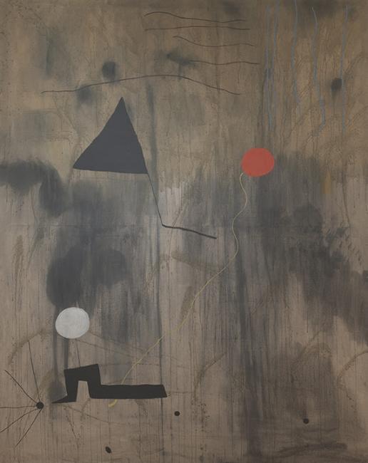 Joan Miro: Birth of the World. Imagen cortesía MoMA
