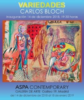 Carlos Bloch. Variedades