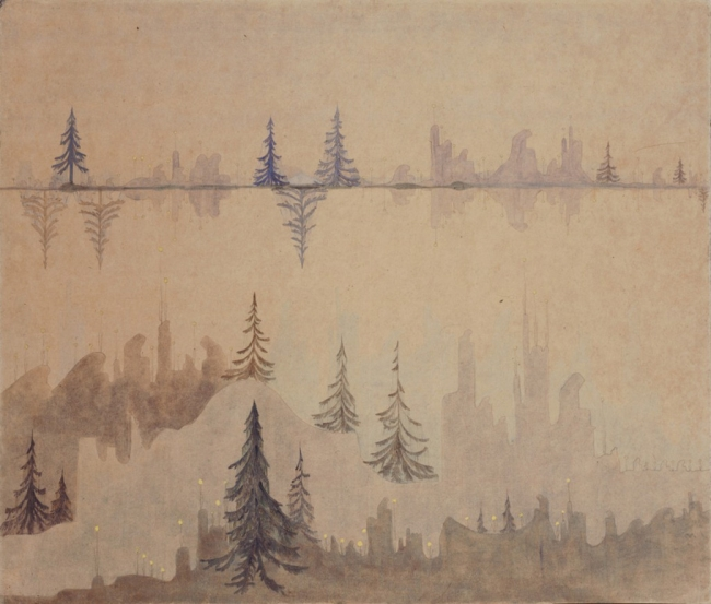 M. K. ?iurlionis. Fuga, 1908 — Cortesía de la Fundació Joan Miró