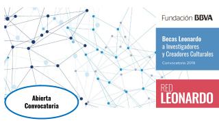 Becas Leonardo a Investigadores y Creadores Culturales - 2019