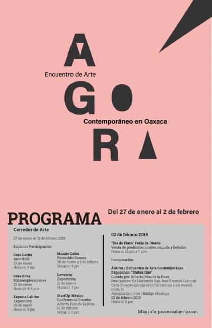I Encuentro de Arte Contemporáneo de Oaxaca