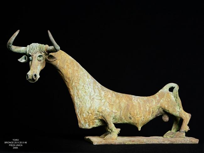 bronce de Julian Ortiz