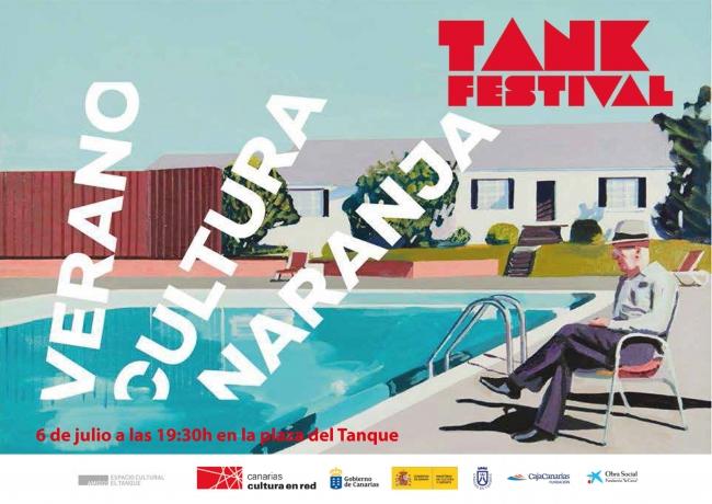 Cartel de Tank Festival 2019
