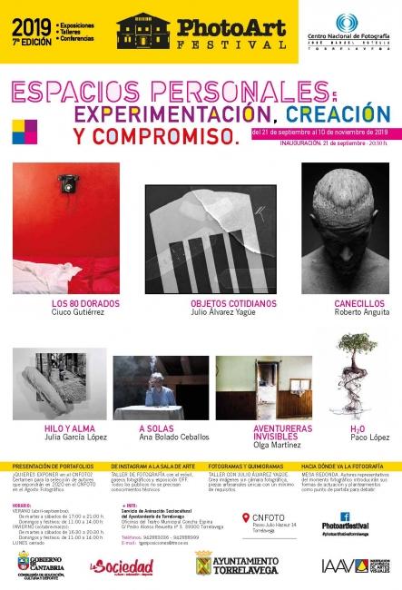 Photo Art Festival. Espacios personales: Experimentación, creación y compromiso