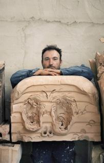 Miquel Barceló en su taller de cerámica, Vilafranca de Bonany, Mallorca, octubre 2019 © Foto: François Halard, 2019 © Miquel Barceló, VEGAP, Málaga, 2019