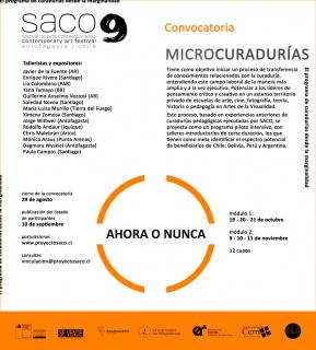 Cartel de Microcuradurías