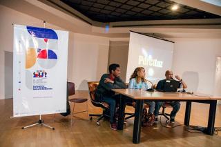 Conferencia para II Bienal del Sur. 2017.  En las instalaciones del Museo de Arte Contemporáneo Armando Reverón (MACAR), Parque Central, Caracas.