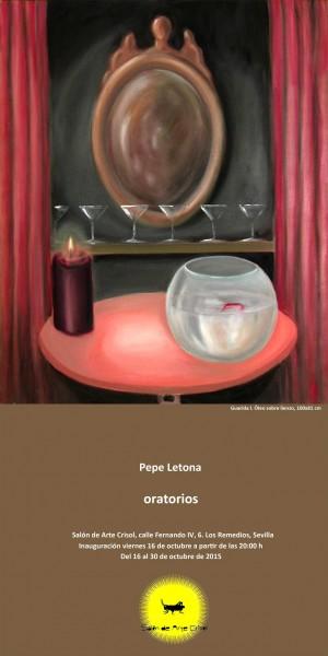 Pepe Letona, Oratorios