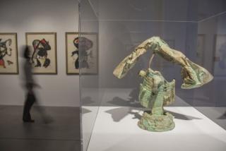 Huellas de Tinta. Joan Miró © Laura Peña Ibáñez. Museo Wurth La Rioja