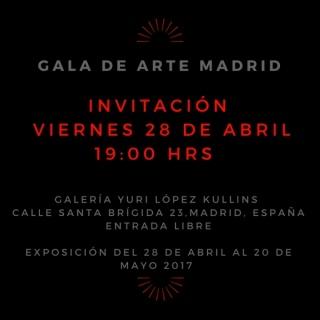 Gala de Arte Madrid