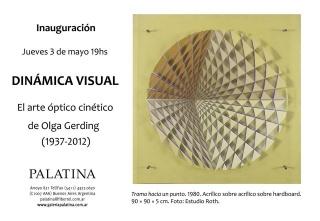 Dinámica visual. El arte óptico cinético de Olga Gerding