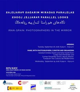 Miradas Paralelas (Parallel Looks). Iran-Spain: Photographers in the Mirror