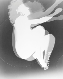 Monocromo VI, 2018, papel Ilford multigrade Fibra, brilhante com viragem em sele?nio, 123×98 cm