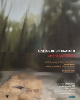 síntesis de un trayecto Myrna Quiñonez
